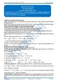 Phản ứng hóa học (Tài liệu bài giảng)