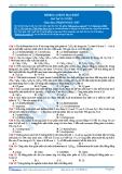 Luyện thi Đại học Kit 1 - Môn Hóa: Hidrocacbon mạch hở