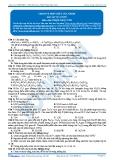 Luyện thi Đại học Kit 1 - Môn Hóa: Crom và hợp chất của crom (Bài tập tự luyện)