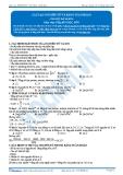 Luyện thi Đại học Kit 1 - Môn Hóa: Cấu tạo nguyên tử và bảng tuần hoàn (Tài liệu bài giảng)