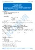 Luyện thi Đại học Kit 1 - Môn Hóa: Dung dịch và độ pH
