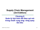Bài giảng Quản trị chuỗi cung ứng - Chương 6: Quản lý tính kinh thế theo qui mô trong chuỗi cung ứng: vòng quay tồn kho
