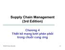 Bài giảng Quản trị chuỗi cung ứng - Chương 4: Thiết kế mạng lưới phân phối trong chuỗi cung ứng