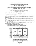 Đề thi lý thuyết Kỹ thuật xây dựng năm 2012 (Mã đề LT2)