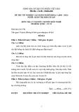 Đề thi & đáp án lý thuyết Quản trị khách sạn năm 2012 (Mã đề LT1)