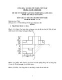 Đề thi lý thuyết Kỹ thuật xây dựng năm 2012 (Mã đề LT15)