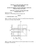 Đề thi lý thuyết Kỹ thuật xây dựng năm 2012 (Mã đề LT17)