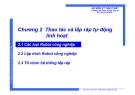 Bài giảng Tự động hóa quá trình sản xuất FMS&CIM: Chương 2 - ThS Phạm Thế Minh