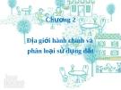 Bài giảng Trắc địa địa chính: Chương 2 - TS. Cao Danh Thịnh