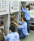 Đồ án tốt nghiệp Điện tự động công nghiệp: Trang bị điện hệ thống xử lý nước thải nhà máy thép Đình Vũ, khu kinh tế Đình Vũ - Quận Hải An, Hải Phòng