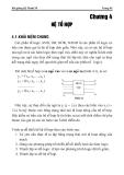 Bài giảng môn Kỹ thuật số - Chương 4: Hệ tổ hợp