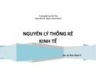 Bài giảng Nguyên lý thống kê kinh tế - GV. Lê Trần Thiên Ý