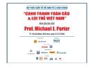 Bài giảng Cạnh tranh toàn cầu và lợi thế Việt Nam - Michael E. Porter