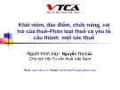 Bài giảng Cơ bản về thuế - Nguyễn Thị Cúc