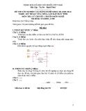 Đề thi & đáp án lý thuyết Kỹ thuật sửa chữa máy tính năm 2012 (Mã đề LT8)