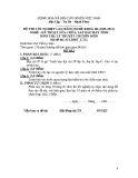 Đề thi & đáp án lý thuyết Kỹ thuật sửa chữa máy tính năm 2012 (Mã đề LT12)