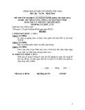 Đề thi & đáp án lý thuyết Kỹ thuật sửa chữa máy tính năm 2012 (Mã đề LT15)