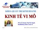 Bài giảng Kinh tế vi mô: Bài 2 - PGS.TS Đoàn Thị Mỹ Hạnh