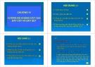 Bài giảng Địa kỹ thuật: Chương 6 (Phần 1)