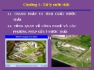 Bài giảng Mạng lưới thoát nước: Chương 3 - Xử lý nước thải