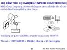 Bài giảng Bộ đếm tốc độ cao (High speed counter:HSC) - BS.ThS. Tạ Văn Phương