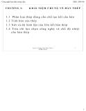 Bài giảng Công nghệ hàn nóng chảy: Chương 1 - Ngô Lê Thông