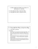 Bài giảng Công nghệ hàn nóng chảy: Chương 7 - Ngô Lê Thông