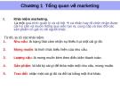 Bài giảng Marketing địa phương