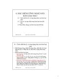 Bài giảng Công nghệ hàn nóng chảy: Chương 6 - Ngô Lê Thông