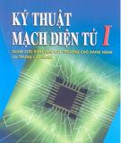 Giáo trình Kỹ thuật mạch điện tử I: Phần 2 - TS. Nguyễn Viết Nguyên (chủ biên)