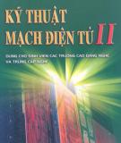 Giáo trình Kỹ thuật mạch điện tử II: Phần 2 - TS. Nguyễn Viết Nguyên (chủ biên)
