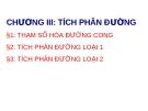 Bài giảng Giải tích 2: Chương 3.1 - Nguyễn Thị Xuân Anh
