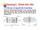 Bài giảng Kỹ thuật điện tử: Chương 2 - Nguyễn Lý Thiên Trường