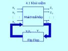 Bài giảng Kỹ thuật số và vi xử lý: Chương 4 - ĐH Bách Khoa