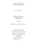 Giáo trình Xây dựng và phân tích chính sách nông nghiệp, nông thôn
