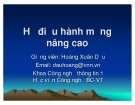 Bài giảng Hệ điều hành mạng nâng cao: Chương VI - TS. Hoàng Xuân Dậu