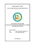 Chuyên đề thực tập: Phân tích tình hình tài chính tại công ty cổ phần xuất nhập khẩu Tiến Phước