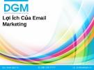 Tìm hiểu lợi ích của Email marketing