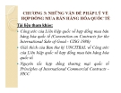 Bài giảng Pháp luật kinh doanh quốc tế: Chương 3 - ThS. Phạm Thị Diệp Hạnh