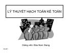 Bài giảng Lý thuyết hoạch toán kế toán - GV. Đào Nam Giang