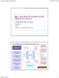 Bài giảng Thẩm định Đầu tư Công: Bài 7 - Nguyễn Xuân Thành