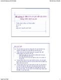 Bài giảng Thẩm định đầu tư Phát triển: Bài 4 - Nguyễn Xuân Thành