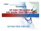 Bài giảng Kế toán tài chính: Chương 4 - Phan Tống Thiên Kiều