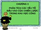 Bài giảng Quản trị chiến lược trong khu vực công: Chương 3 - ThS. Lê Hồng Hạnh