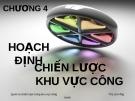 Bài giảng Quản trị chiến lược trong khu vực công: Chương 4 - ThS. Lê Hồng Hạnh