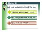 Bài giảng Quản lý nhà nước về nông nghiệp, nông thôn: Chương II - ThS. Nguyễn Thị Thanh Thủy