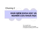 Bài giảng Phương pháp nghiên cứu khoa học: Chương 2 - TS. Lê Quốc Tuấn