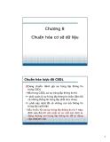 Bài giảng Cơ sở dữ liệu - Chương 8: Chuẩn hóa cơ sở dữ liệu