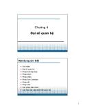 Bài giảng Cơ sở dữ liệu - Chương 4: Đại số quan hệ