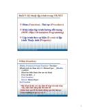 Bài giảng Lập trình ứng dụng Visualbasic: Bài 5 - Phạm Đình Sắc